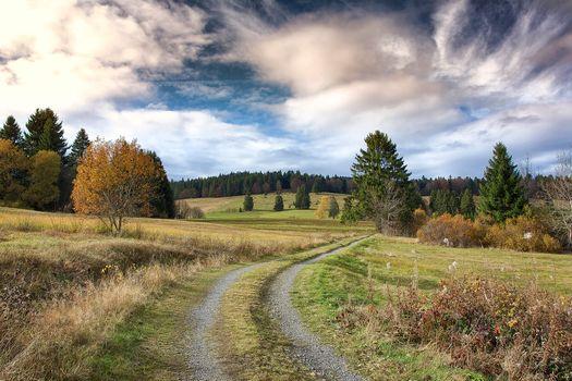 Фото бесплатно Бернау, облака, Германия