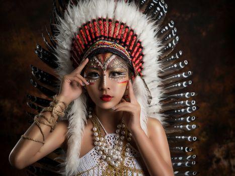 Фото бесплатно модель, азиатские модели, красотка