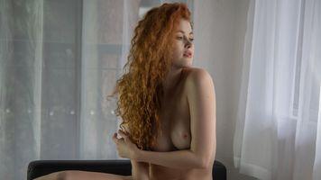 Бесплатные фото Хейди Романова,рыжая,сиськи,большие сиськи,ню
