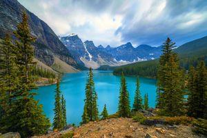 Фото бесплатно Альберта, скалы, канада