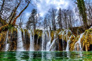 Плитвицкие озера в национальном парке Хорватии