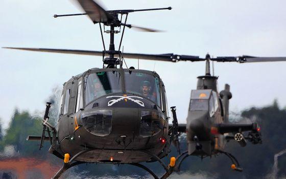 Фото бесплатно авиация, вертолетов, военных