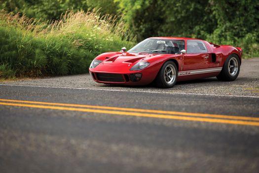 Фото бесплатно Форд GT40, дорога, суперкар