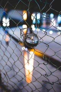 Бесплатные фото улица,город,здание,жуткий,оранжевый,архитектура,симметрия,urbex,городской,ночь,легкий след,забор
