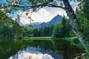 Бесплатные фото озеро,пруд,горы,холмы,лес,деревья,пейзаж