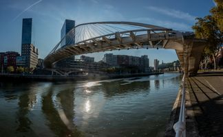 Заставки bridge, river Nervion, Bilbao