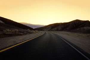 Photo free landscapes, sunset, road