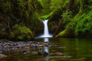 Пуншем Фолс - Орегон водопад