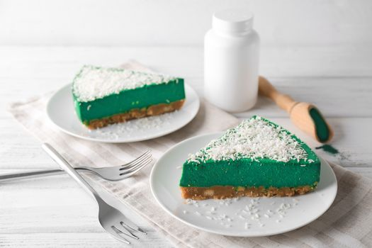 Photo free pastry, pie, powdered sugar
