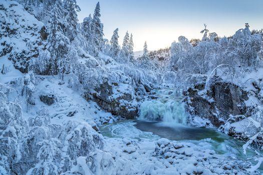 Фото бесплатно Одда, пейзаж, лед