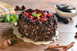 Фото бесплатно стружка, пирожное, шоколадное