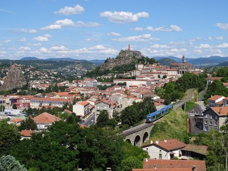 Фото бесплатно X73500, дизель-поезд, Le Puy-en-Velay