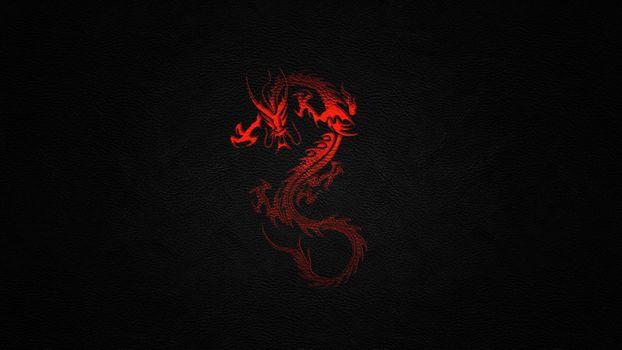 Фото бесплатно Дракон, свет, апапапек