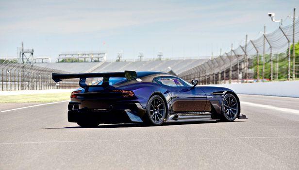 Photo free Aston, coupe, rear end