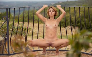 Фото бесплатно ariel, lilit a, ariela, rufina t, dirty blonde, outdoors, naked, boobs, tits, perky nipples, shaved pussy, labia, spread legs, squating, hi-q