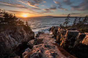 Фото бесплатно Мэн, море, США