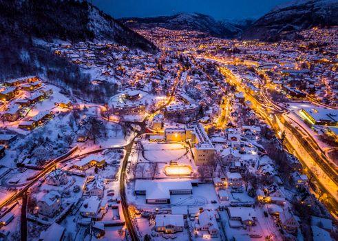 Photo free illumination, Bergen, lights