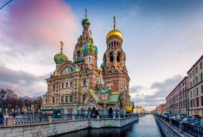 Заставки Россия, Церковь на Крови, Санкт-Петербург