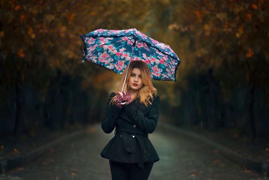 Free photo girl with umbrella, sexy girl, beauty, sexy, young, goddess, pussy - to desktop
