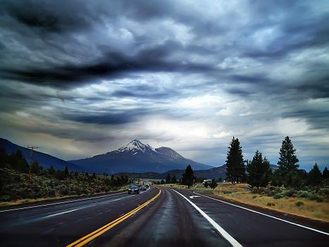 Фото бесплатно горизонт, гора, облако