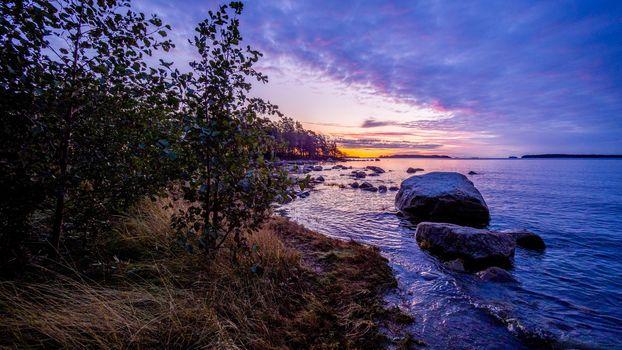 Фото бесплатно побережье, камни, пейзаж