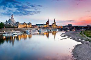 Фото бесплатно Dresden, летний вечер, лодки