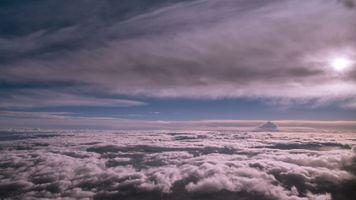 Фото бесплатно небо, облака, фон