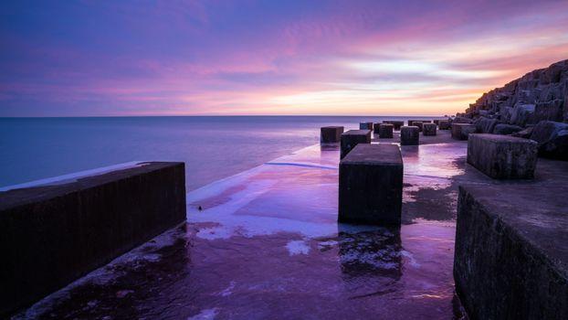 Photo free beach, stones, nature
