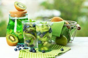 Заставки киви, напитки, фрукты