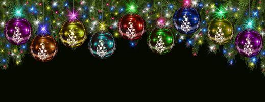 Фото бесплатно украшения, новогодние обои, новый год