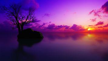 Photo free Sunset, nature, Deviantart
