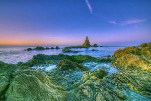 Берег моря в Испании