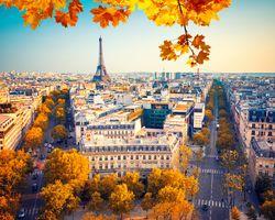 Заставки Eiffel tower, городские, шоссейные