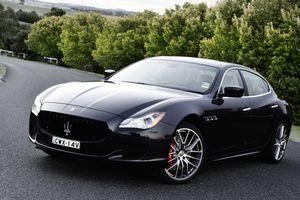 Фото бесплатно Maserati Quattroporte GTS, черный, дорога