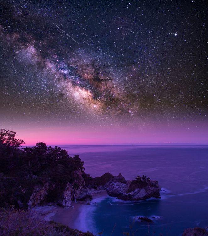 Фото бесплатно McWay Falls, Big Sur, California - на рабочий стол