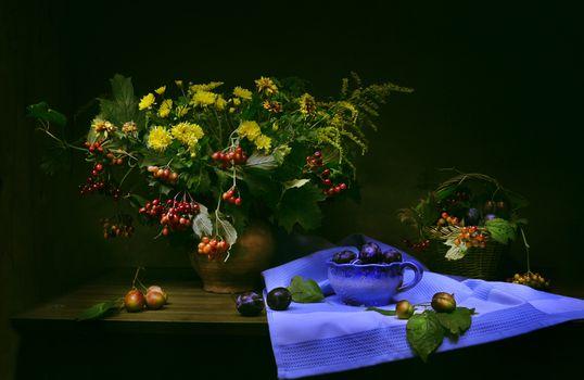 Photo free flowers, fruit bouquet, picture