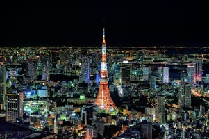 Japanese TV tower · free photo
