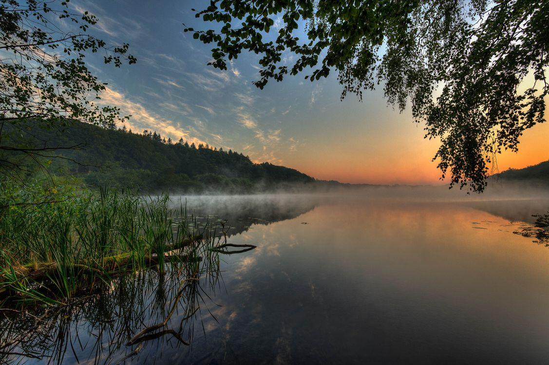 Озеро в Ютландии · бесплатное фото