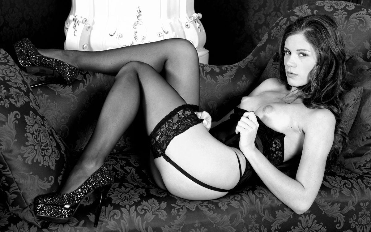 Фото бесплатно чулки, сексуальное, нижнее белье - на рабочий стол