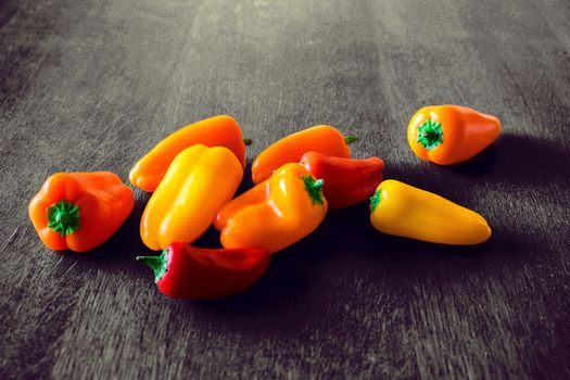 Photo free red pepper, pepper, vegetables