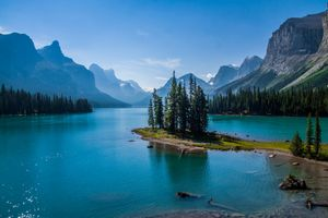 Фото бесплатно горы, Канада, Альберта