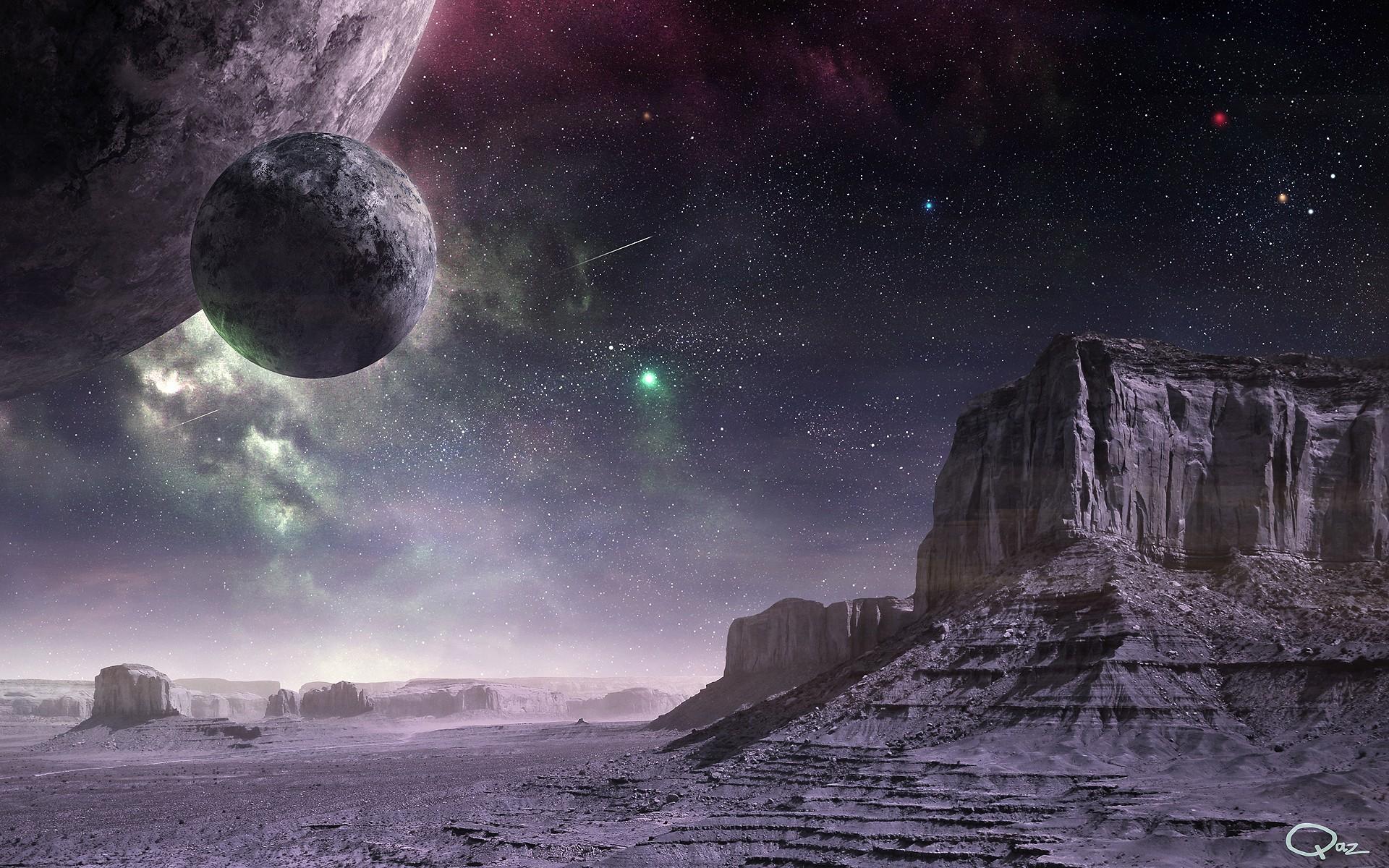 салате использовала фото космоса картины стал первым