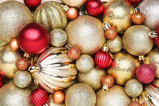 Фото бесплатно текстура, Рождественские игрушки, новый год