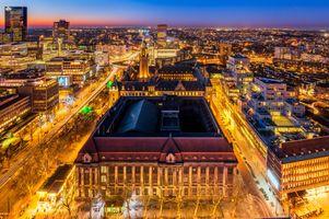 Фото бесплатно освещение, ночные города, ночь