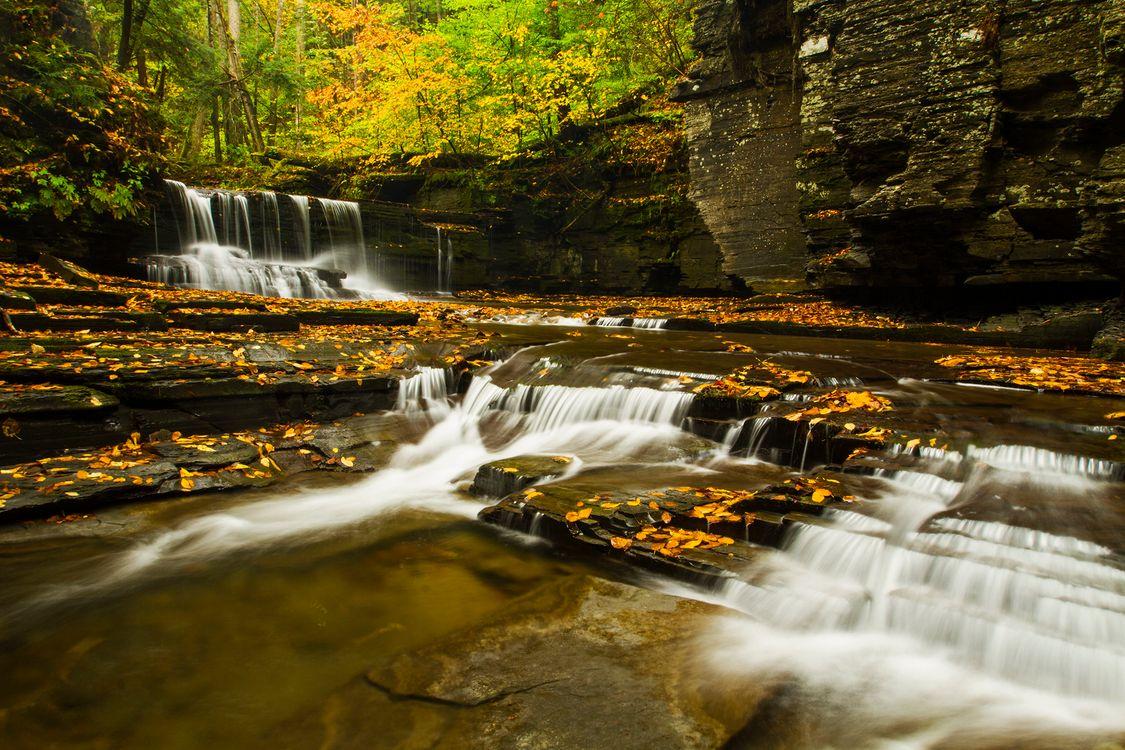 Фото бесплатно природа поток, вода, скалы - на рабочий стол