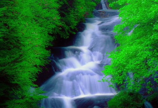 Photo free waterfall, flow, current