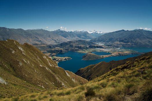 Бесплатные фото вода,горы,небо ясное