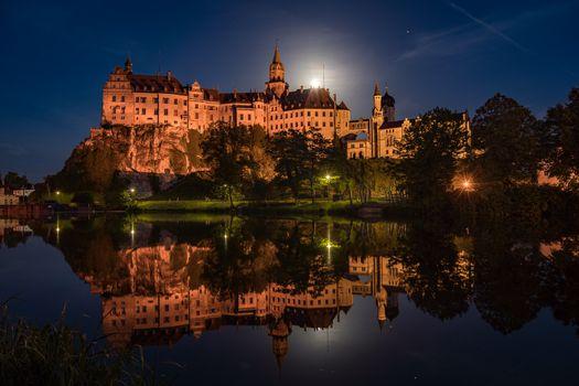Photo free reflection, Baden-wurttemberg, illumination