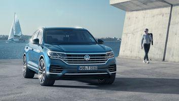 New VW Touareg · free photo