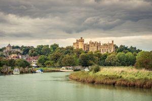 Бесплатные фото замок,Arundel Castle,West Sussex,England